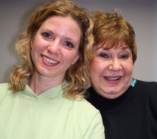 Dottie Copeland took on Cancer like a prizefighter. She's shown here with her daughter Tina Nelson
