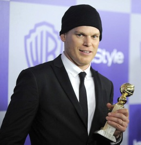 """Dexter"" star Michael C. Hall at the Golden Globes."