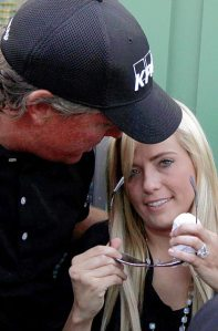 Joy for Phil and Amy Mickelson