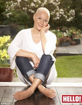 Viewers were unaware that Sally Whittaker was diagnosed with breast cancer at the same time as her soap character