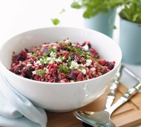 beetroot and orzo