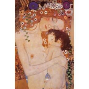 Mother and Child by Gustav Klimt