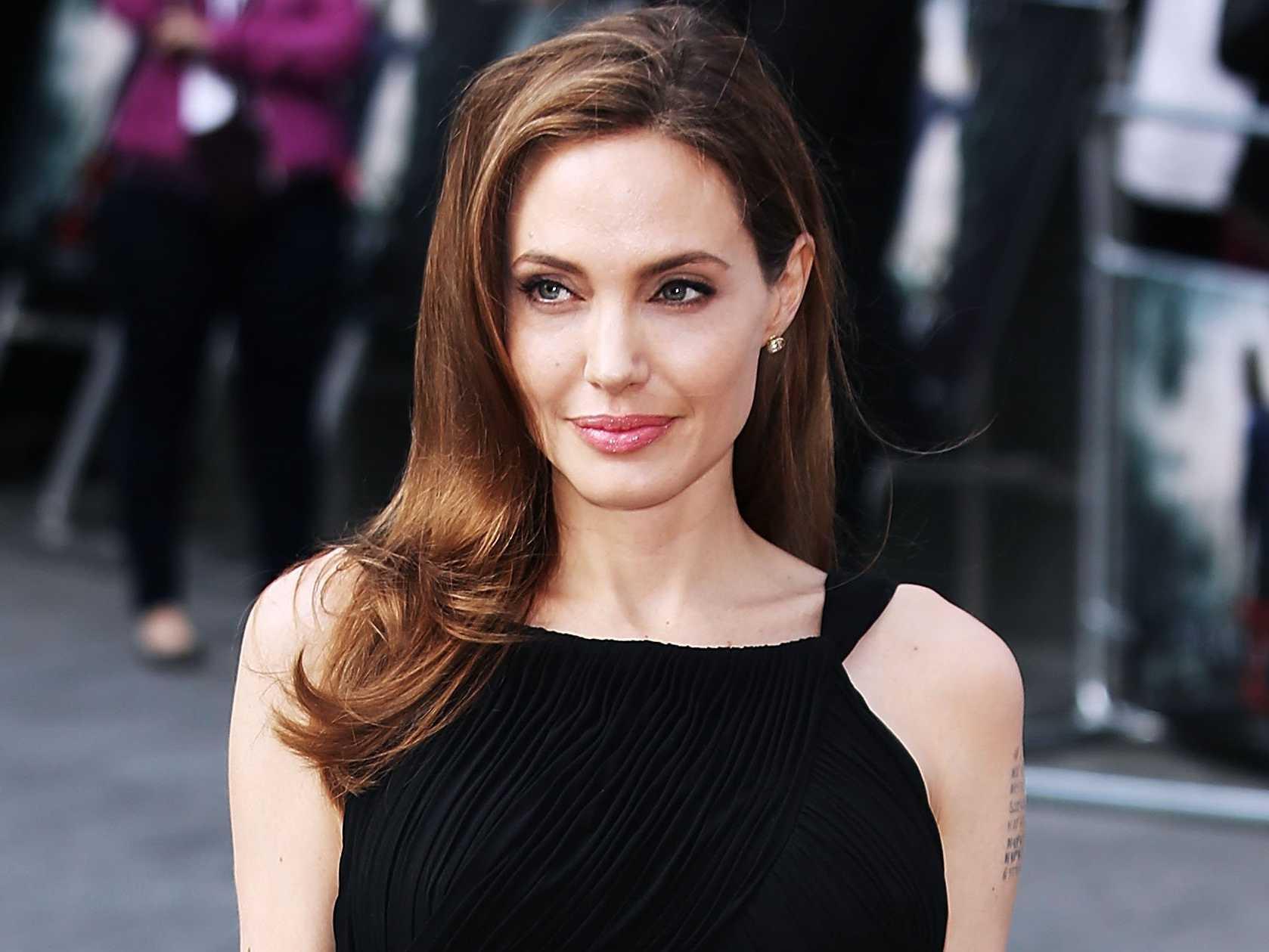Jolie was named a UNHCR Angelina Jolie