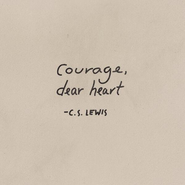 courage cslewis