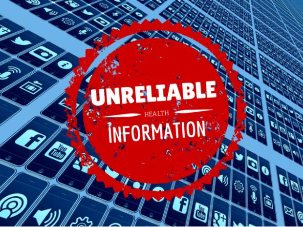 Unreliable online health information
