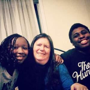Sharon, Carter, and Kayla Greene