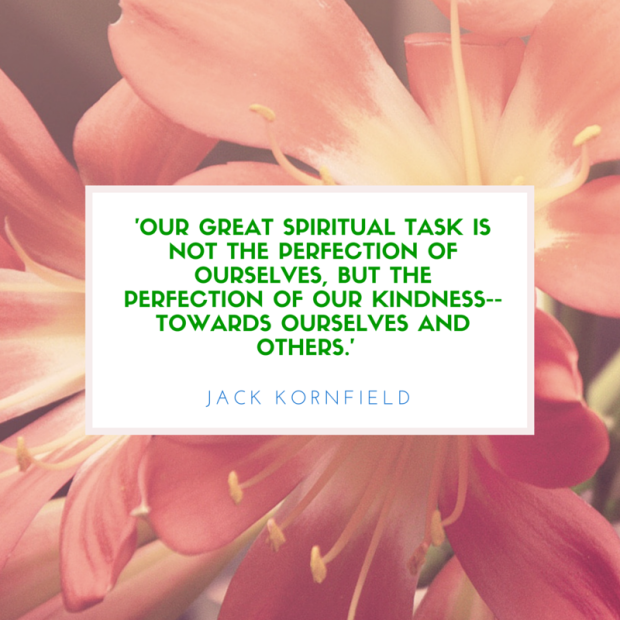 'Our great spiritual task is not the